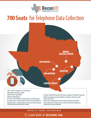 Telephone Data Collection